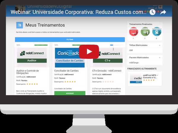 Webinar sobre Universidade Corporativa - Reduza Custos com a Experiência de Aprendizagem
